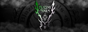 Logo Old vs new Blazing souls